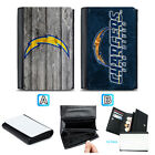 San Diego Chargers Leather Women Wallet Purse Card ID Coin Holder $21.1 CAD on eBay