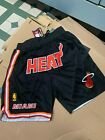 Miami Heats Just Don Summer League Time Team Black Mens Basketball Shorts on eBay