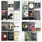 YOU PICK Cassette Tapes Lot - New Wave, Shoegaze, Alternative - 80's, 90's Rare!