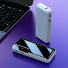 Portable Power Bank 3 USB External Fast Charging Battery Pack 900000mAh Charger