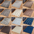 SMALL - EXTRA LARGE SOFT SHAGGY 5cm PILE RUGS, GREY, BEIGE MINK. NON-SHEDDING