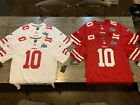 San Francisco 49ers Super Bowl Patch Nike Jersey Jimmy Garoppolo NWT EXCLUSIVE image