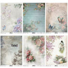ITD Collection D - Decoupage Rice Paper A4 Sheet - VARIOUS DESIGNS