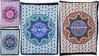 Elephant Mandala Cotton Yoga Mat Tapestry Ethnic Indian Wall Hanging Table Cover