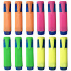 12 x Highlighter Pens | Chisel Tip 1-5mm | Bright Colours | School or Office