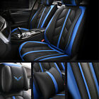 Luxury Leather Car Seat Covers 5 Seats Full Set Protector Universal Sport Style $99.99 USD on eBay
