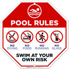 Pool Rules Sign, Pool Sign, $13.99 USD on eBay