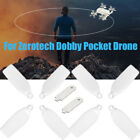 4 Pairs Foldable Propeller CW/CCW for ZEROTECH DOBBY Pocket FPV Drone UK