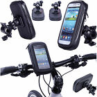 360° Waterproof Bike Mount Holder Case Bicycle Cover for Various Samsung Phones