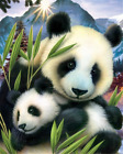 Lovely Panda Scenery Full drill 5D Diamond Painting Fashion Art Home Decor Z938