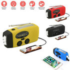 Kyпить Emergency Solar Hand Crank Dynamo Weather Radio Power Bank Torch USB Charger US на еВаy.соm