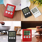Slim Digital LCD Kitchen Timer Magnetic Stopwatch Cooking Countdown Clock Alarm