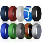 Kyпить Silicone Exercise Ring for Men 10 Packs Flexible Rubber Wedding Engagement Bands на еВаy.соm