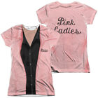 Authentic Grease Rizzo Pink Ladies Outfit Uniform Costume Front Back T-shirt top