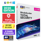 BITDEFENDER TOTAL SECURITY 2020 - 3 YEARS - MULTI DEVICE - ACTIVATION DOWNLOAD!!