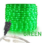 "Assorted Sizes 3/8"" Green LED Rope Lighting Flexible Indoor Outdoor Christmas"