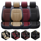 Ultra Comfort Leather Full Set Car Seat Cover Universal 5 Seat Cushion Protector $89.96 USD on eBay