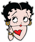 Betty Boop Cartoon Face Sticker Bumper Decal - ''SIZES'' $3.75 USD on eBay