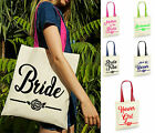 Personalised Bride Mother Of The Bride Bridemaid Bride Tribe Name Tote Bag, Gift