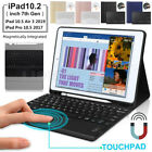 Touchpad Bluetooth Keyboard Case for iPad 7th 8th Gen 10.2/Pro Air 3 10.5 2019