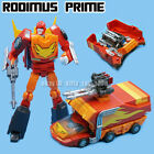 Pocket Size Small Scale Cartoon Robot Toy Autobots Rodimus Prime Action Figures