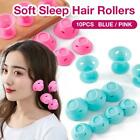 New Magic Silicone Hair Curlers Rollers No Clip Formers Styling Curling DIY Tool