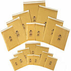 Small Large Gold Padded Bubble Wrap Envelopes Bags - ALL SIZE Available