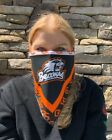 """College Bandana Face Mask-NCAA 22"""" Square Bandanna for Face, Neck, Hair, and Pet"""