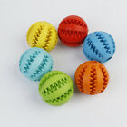 Pets Leaking Food Ball Toys Elastic Natural Rubber Dog Molars Clean Teeth Puzzle