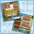 FISHING HOLE Printed Premade Scrapbook Pages