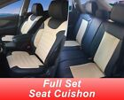 Full Sets Leather like Car Seats Cushion Covers for Dodge # 80209 Black/Tan $89.0 USD on eBay