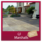 CONCRETE PAVING SLABS MARSHALLS HERITAGE RIVEN OLD YORKSTONE PATIO FLAGS