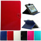 """For Samsung Tab 4 10.1"""" SM-T530NU T537 T535 Universal Leather Folio Case Cover"""