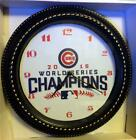 "CHICAGO CUBS 2016 WORLD SERIES CHAMPS - 9.25"" or 12"" WALL CLOCK on Ebay"