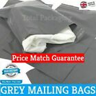 Grey Mailing Bags Poly Mailers 6 x 9 (150mm x 230mm) Post Mail Postal Envelope