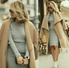ZARA long camel wool handmade coat with belt sold out bloggers Medium M for sale  Shipping to Ireland