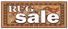 RUG SALE BANNER SIGN persian carpet carpeting
