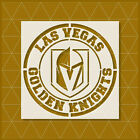 Las Vegas Golden Knights Stencil 11x11 8x8 6x6 | Reusable Mylar Template $12.46 USD on eBay