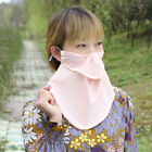 Dustproof Women Cotton Veil Breathable Sunscreen Neck Scarf Muslim Face Cover