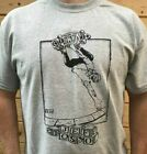 Jeff Grosso skateboard t-shirt hand screened black label anti-hero custom made image