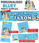 Personalised Bluey Birthday Party Banner Decorations
