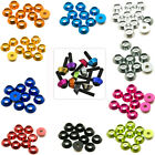 M3 M6 CNC Alloy Aluminium Countersunk Washer Head Bolt Gasket For RC Model LOT