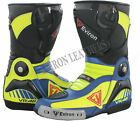 Latest VR Motorcycle Motorbike Leather Boots - Waterproof
