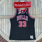 Mitchell & Ness Scottie Pippen NBA Swingman Jersey Chicago Bulls 1997 Black on eBay