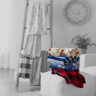 NEW The Big One Supersoft Plush Throw, Oversized: 5X6 feet, Lowest Price image
