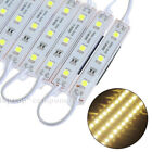 US 5050 SMD 3 LED Module Lights Store Front Window Sign Lamps DIY (Remote,Power)