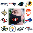 Footbal Sport Team Logo Mask Reusable Washable 100% Double Layer Cotton $14.99 USD on eBay