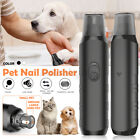 Pet Nail Polisher Cat Paws Nail Grooming Trimmer Tool Battery Powered Grinder