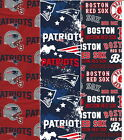 New England Patriots  or Red Sox fabric 1/4 yard 9x44 45 face mask fabric $10.0 USD on eBay