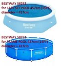 BESTWAY SOLAR COVER 8FT 10FT 12FT 13FT 14FT SWIMMING POOL INFLATABLE ROUND SHEET